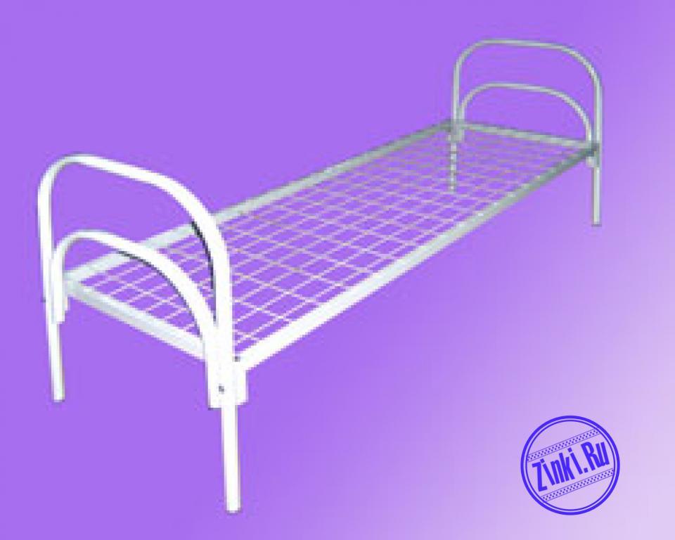 Бюджетные кровати металлические для постояльцев. Хабаровск