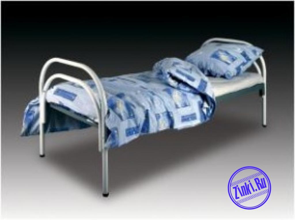 Односпальные кровати металлические в больницы