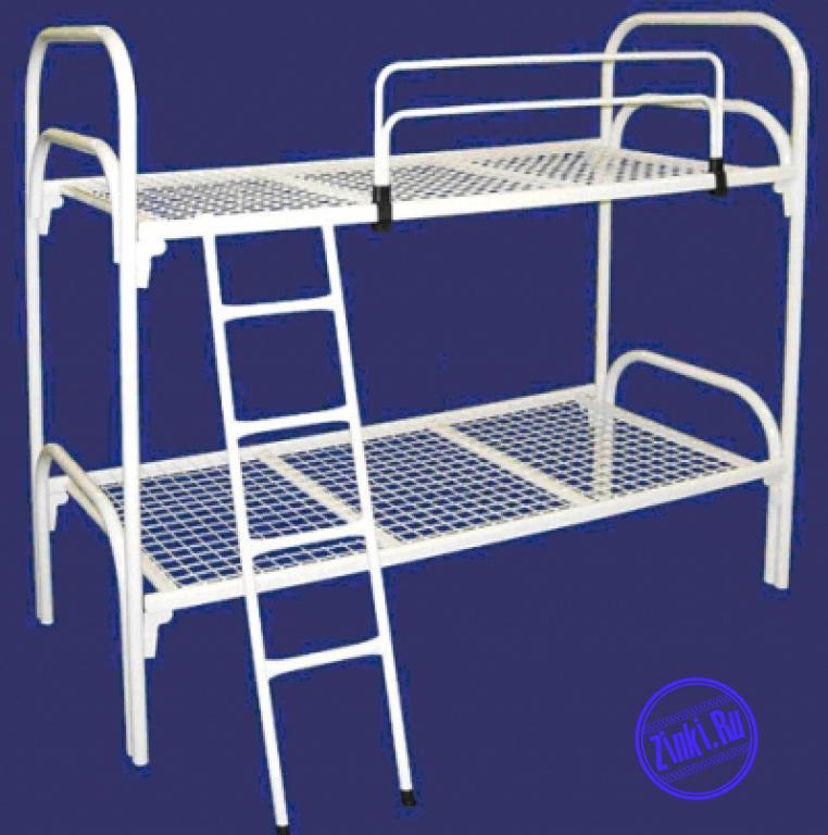 Двухъярусные кровати металлические в летний лагерь