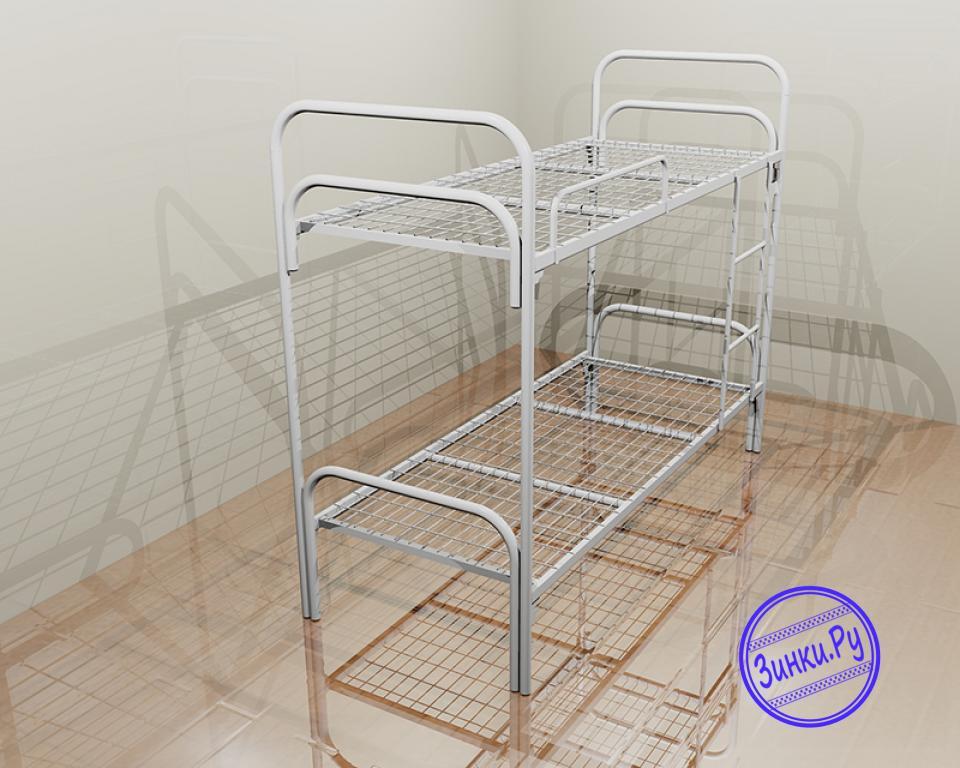 Кровати одноярусные металлические двухспальные. Шахты. Фото - 2