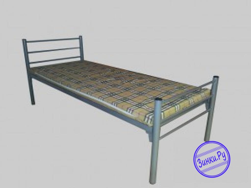 Кровати одноярусные металлические двухспальные. Шахты. Фото - 4