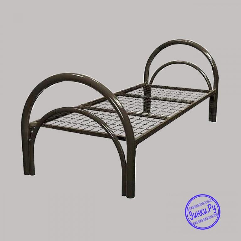 Кровати одноярусные металлические двухспальные. Шахты. Фото - 5