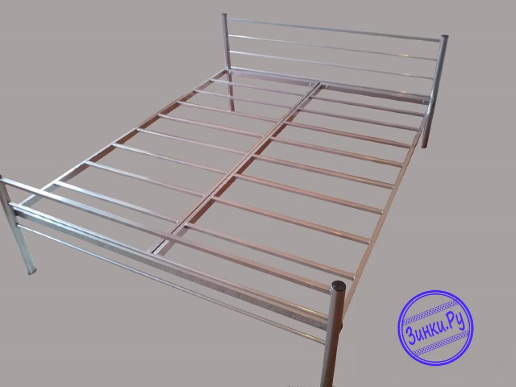 Кровати одноярусные металлические двухспальные. Шахты. Фото - 6