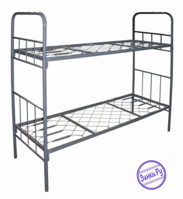 Металлические кровати двухъярусные разных цветов. Грозный. Фото - 3