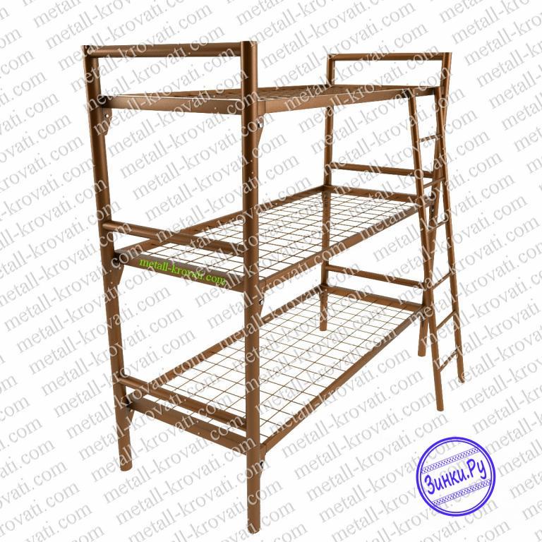 Двухъярусные кровати с металлическими спинками. Симферополь. Фото - 2