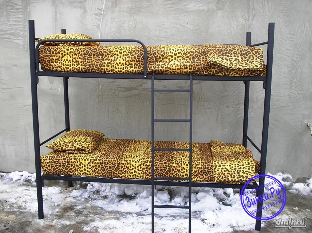 Кровати с пружинами, со спинками из дсп. Красноярск. Фото - 2