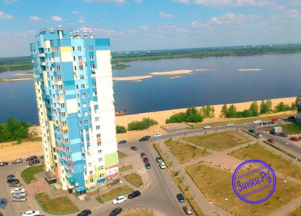 Сдам 1-комнатную квартиру, 56 м² посуточно. Нижний Новгород