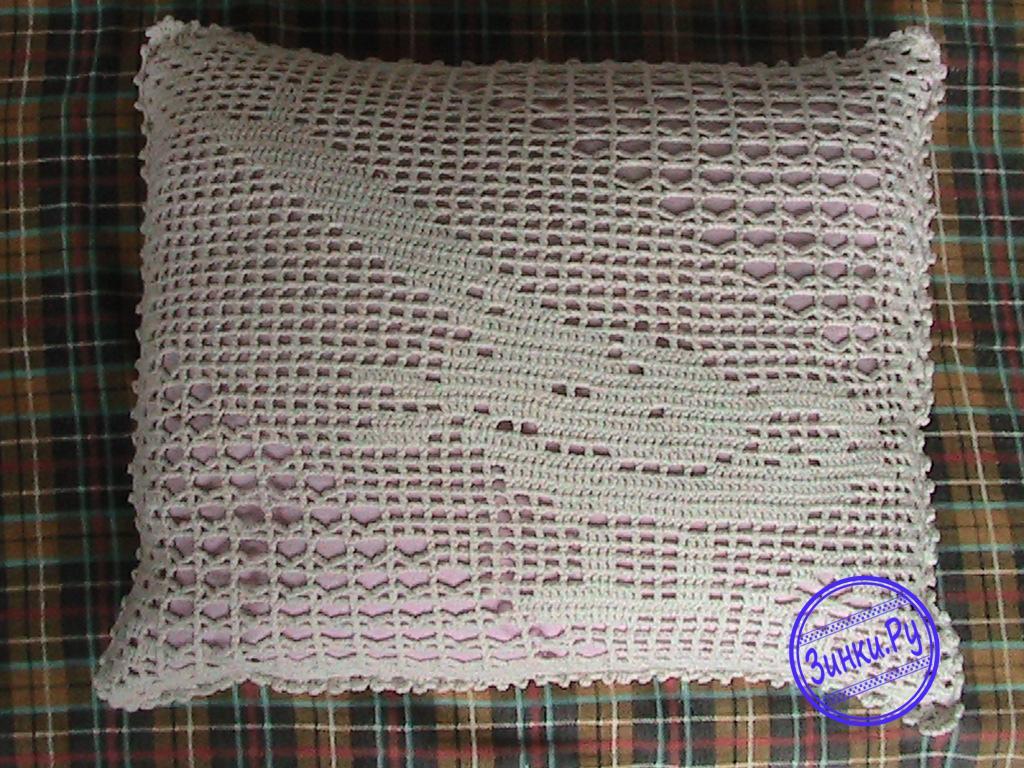 Наволочки лечебные для подушек,связанные из ниток. Казань
