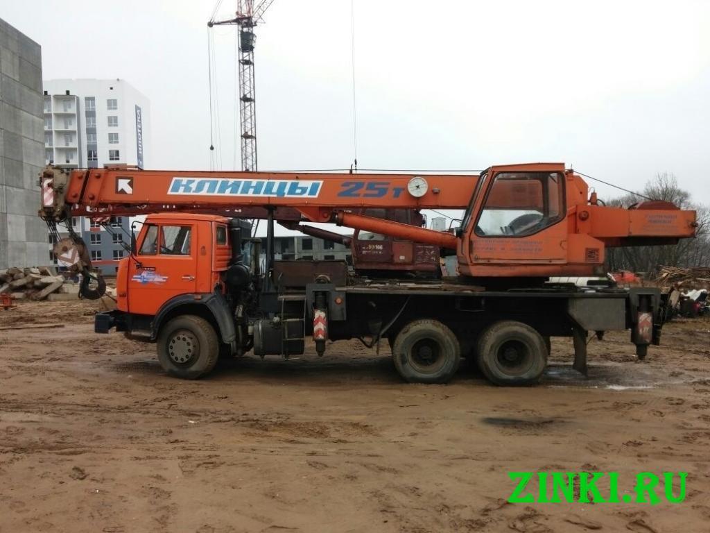 Аренда автокрана 25 тонн стрела 28 метров. Екатеринбург