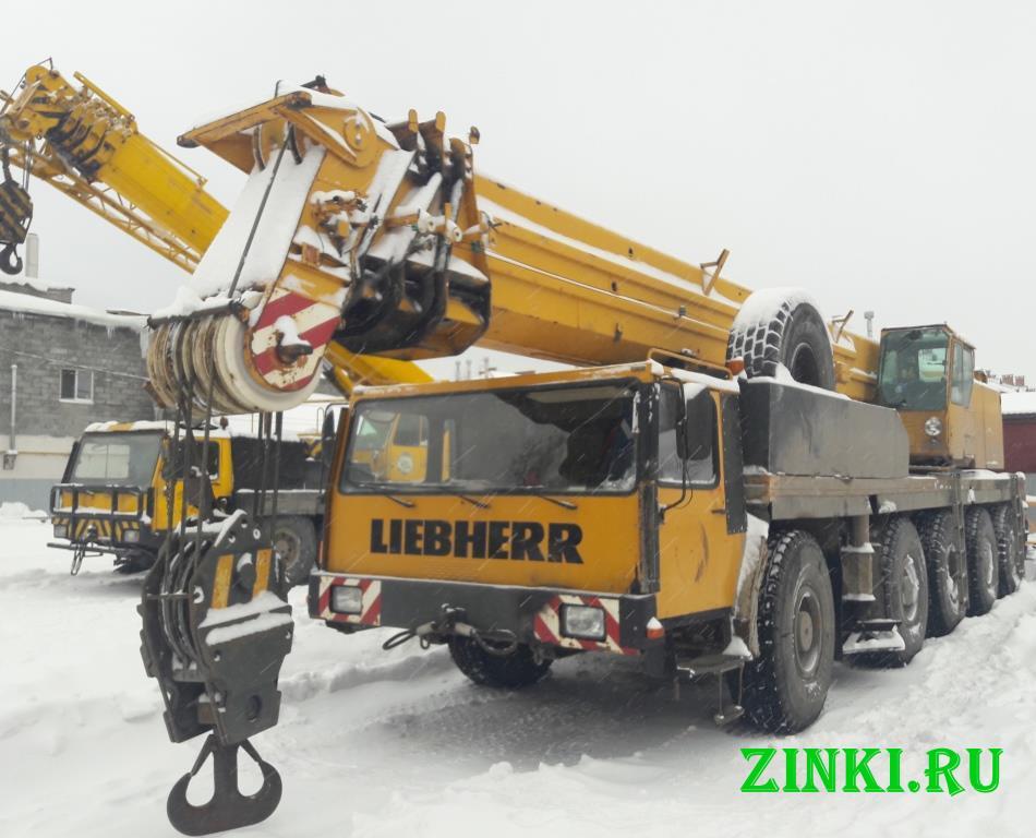 Продам автокран либхерр liebherr ltm 1120, 120 тн. Калуга