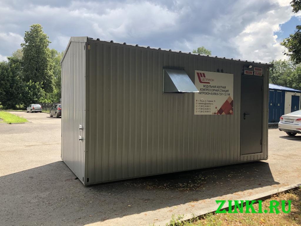 Модульная азотная станция нитрокон-м. Пенза