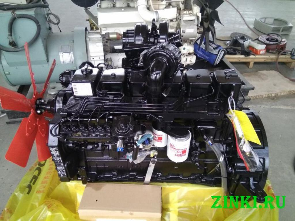 Двигатель cummins 6bta5.9-c170 евро-2 для спецтехн. Благовещенск
