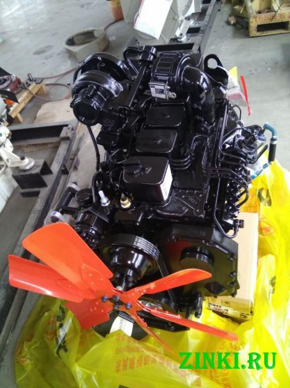Двигатель cummins 6bta5.9-c170 евро-2 для спецтехн. Благовещенск. Фото - 3