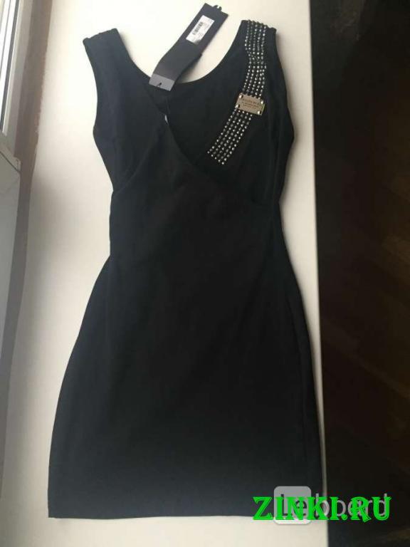 Платье новое philipp plain 44 46 м турция черное м. Москва. Фото - 3