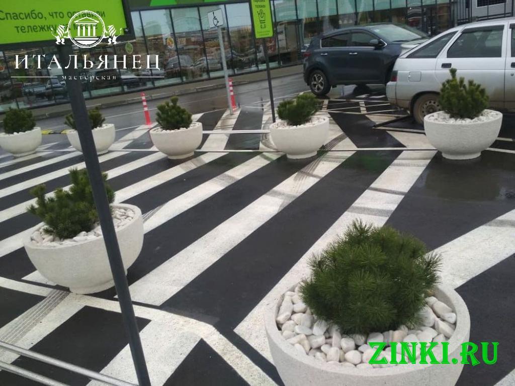 Продажа вазонов бетонных уличных. Керчь. Фото - 2
