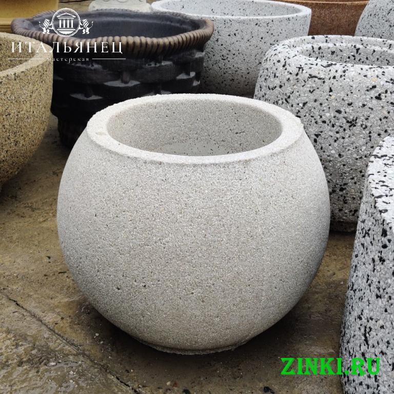 Продажа вазонов бетонных уличных. Керчь. Фото - 3