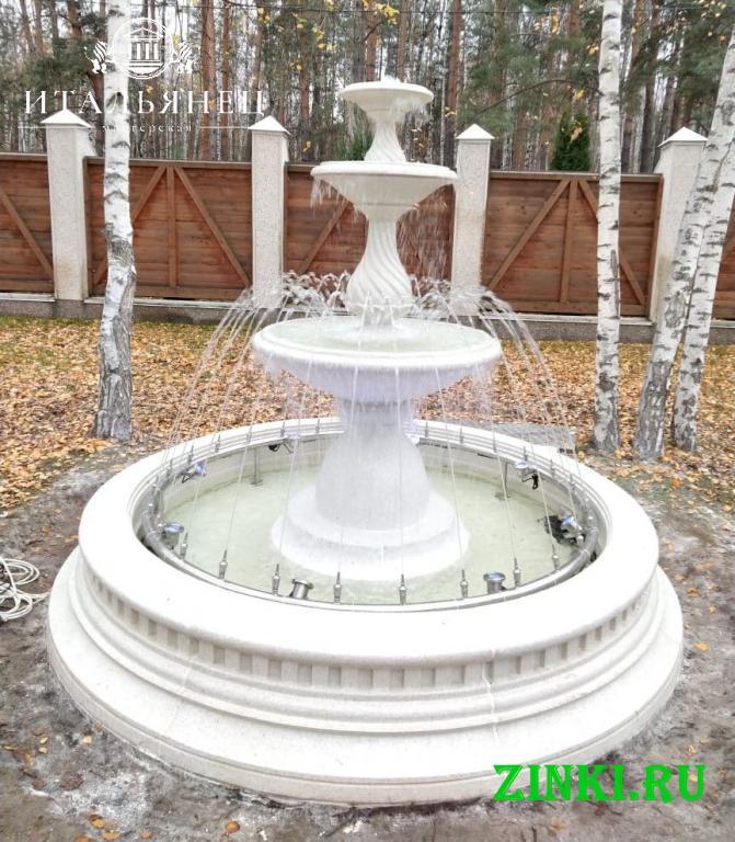 Чаша для фонтана из бетона от производителя. Краснодар. Фото - 3