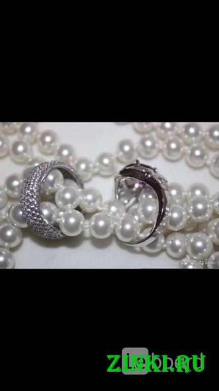 Кольцо новое серебро 19 размер камень аметист фиол. Москва. Фото - 3