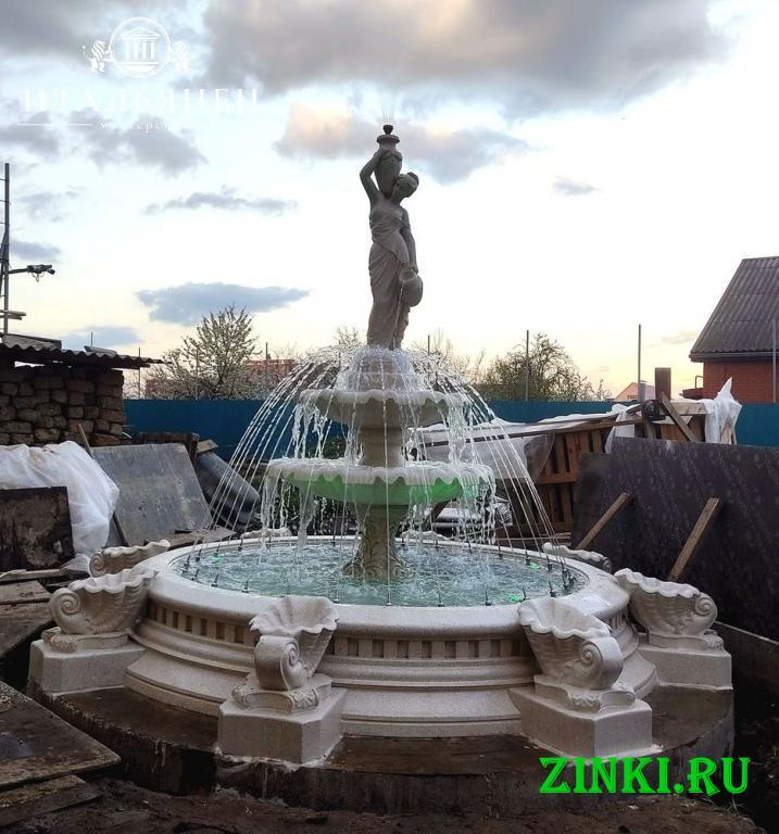 Чаша для фонтана из бетона от производителя. Краснодар. Фото - 6