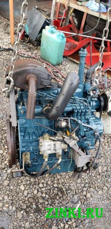 Двигатель kubota 1505t трактор вездеход спецтехник. Благовещенск
