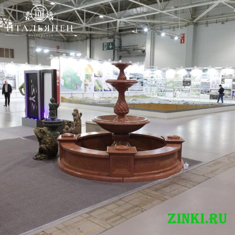 Чаша для фонтана из бетона от производителя. Краснодар. Фото - 4